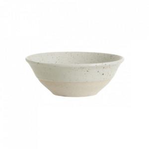 Bol bej nisipiu din ceramica 15 cm Grainy Bowl Nordal