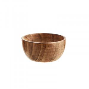 Bol maro din lemn 7,5 cm Chloë Madam Stoltz