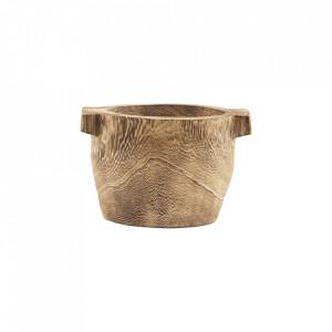 Bol maro din lemn de paulownia 21 cm Craft House Doctor