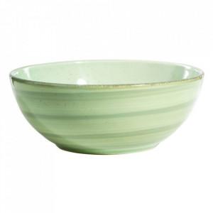 Bol verde din ceramica 1 L Lincombe Ixia