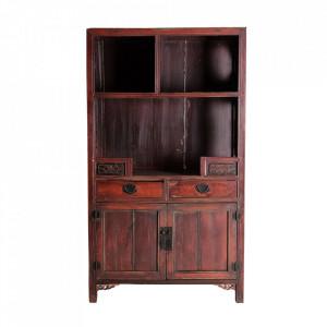 Bufet maro din lemn 192 cm Amaniya Vical Home