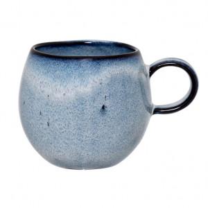 Cana albastra din ceramica 8 cm Sandrine Bloomingville