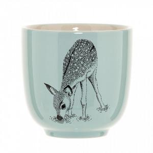 Cana verde din ceramica 180 ml Bambi Bloomingville