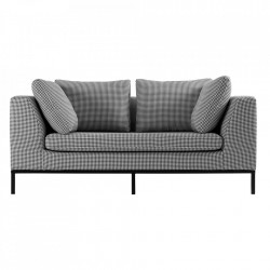 Canapea din textil pentru 2 persoane Ambient Custom Form