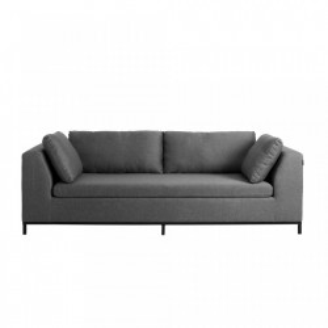 Canapea gri din polipropilena pentru 3 persoane Ambient Custom Form