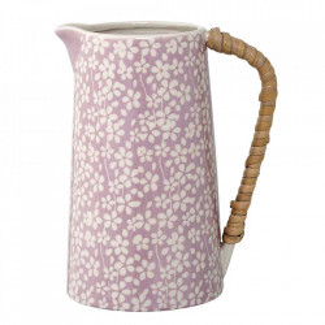 Carafa alba/roz din ceramica 800 ml Seeke Bloomingville