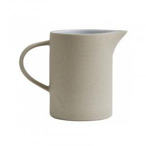 Carafa bej/alba din ceramica 800 ml Sally Nordal