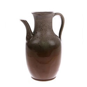 Carafa din ceramica maro Jug M HK Living