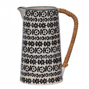 Carafa neagra din ceramica 800 ml Julie Bloomingville