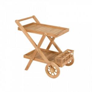 Carucior din lemn tec Wheels Santiago Pons