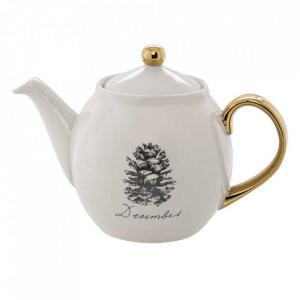 Ceainic alb din ceramica 1,2 L Maria Bloomingville