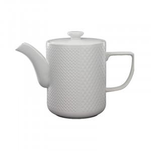 Ceainic alb din ceramica 15x22 cm Kris LifeStyle Home Collection