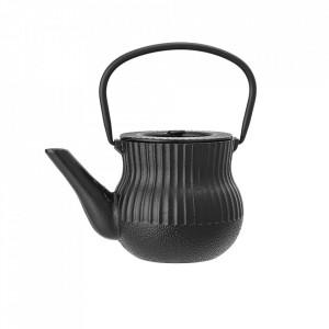 Ceainic negru din fonta 850 ml Aile Bloomingville