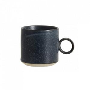 Ceasca albastra din ceramica 270 ml Grainy Cup Nordal