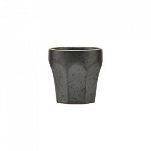 Ceasca neagra din ceramica 6,2x6,3 cm Berica House Doctor