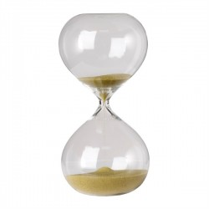 Clepsidra din sticla cu nisip auriu Ball S Pols Potten