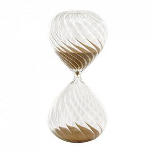 Clepsidra din sticla cu nisip auriu Swirl M Pols Potten