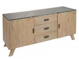 Comoda din lemn de mindi si MDF 160 cm Noa Santiago Pons