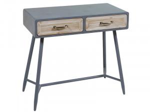 Consola din lemn de brad si MDF 80 cm Queens Santiago Pons