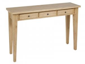 Consola maro din lemn mindi 120 cm Crear Drawers Santiago Pons