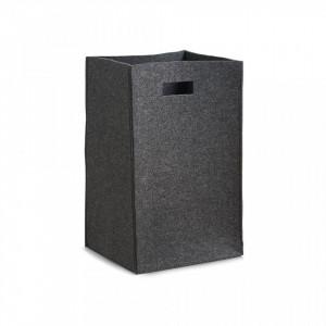 Cos de rufe gri din fetru 35x55 cm Laundry Collector Anthracite Zeller