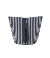 Cos din bumbac Chambray Medium Striped Ferm Living
