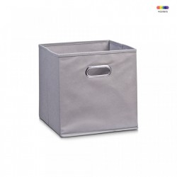 Cos gri din fleece Storage Box Gray Zeller