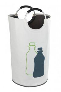 Cos multicolor din poliester si aluminiu 69 L Jumbo Bottle Collector Wenko