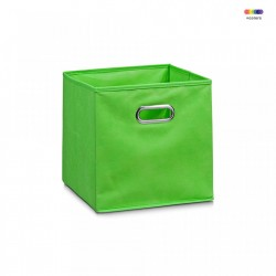 Cos verde din fleece Storage Box Green Zeller