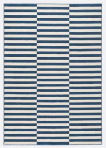 Covor alb cu albastru Gloria Panel Hanse Home (diverse marimi)