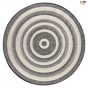 Covor crem/gri din polipropilena 160 cm Handira Cream Grey Mint Rugs