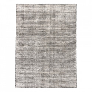 Covor din lana si viscoza Oat Black Ligne Pure (diverse dimensiuni)