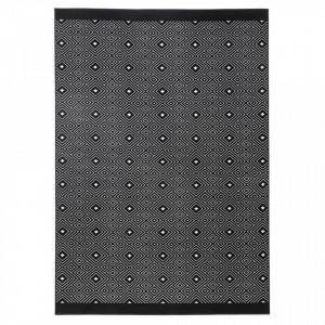 Covor dreptunghiular negru Quadrangle Zala Living (diverse dimensiuni)