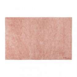 Covor dreptunghiular roz din bumbac 140x200 cm Flamingo Pink Lorena Canals