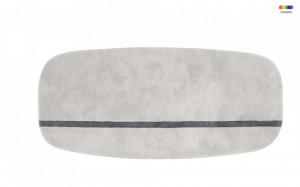Covor gri din lana 90x200 cm Oona Normann Copenhagen