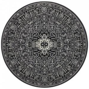 Covor gri din polipropilena 160 cm Mirkan Oriental Skazar Nouristan