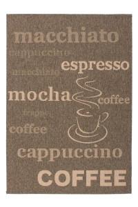 Covor maro din polipropilena Finca Coffee Lalee (diverse dimensiuni)