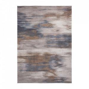 Covor multicolor din bumbac si poliester Atlantic's Grey Impression Louis de Poortere (diverse dimensiuni)