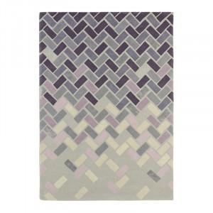 Covor multicolor din lana TB Agave-Ash-Gre Brink & Campman (diverse dimensiuni)
