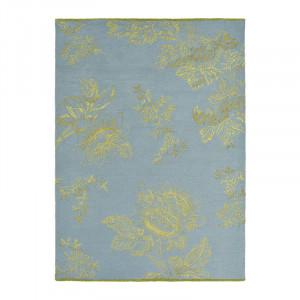 Covor multicolor din lana WW Tonquin-Blue Brink & Campman (diverse dimensiuni)