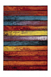 Covor multicolor din polipropilena Espo Rainbow Pattern Lalee (diverse dimensiuni)