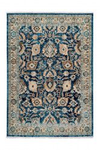 Covor multicolor din polipropilena Medellin Blue Pattern Lalee (diverse dimensiuni)