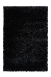 Covor negru din poliester Twist Lalee (diverse dimensiuni)