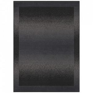 Covor negru din polipropilena Retro Pattern The Home (diverse dimensiuni)