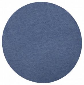 Covor rotund albastru Twin Miami Bougari