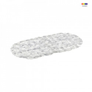 Covoras transparent din PVC pentru baie 34x67 cm Bitt Unimasa