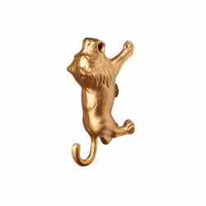 Cuier auriu din metal Lino Kids Depot