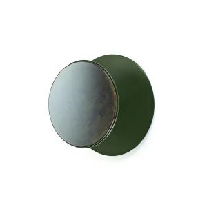 Cuier verde din otel si sticla Forest Serax