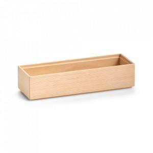 Cutie maro din lemn Luz Mini Zeller