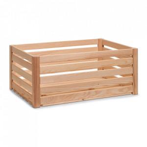 Cutie maro din lemn Strips Big Zeller